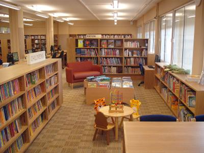 Yiewsley library